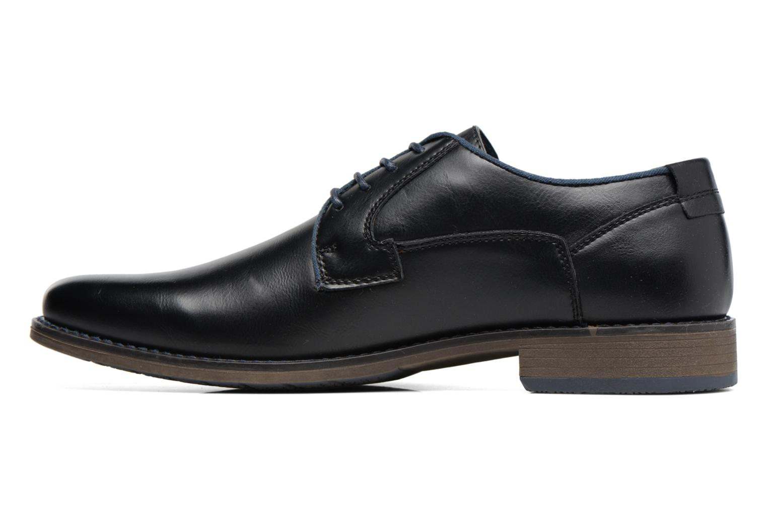 Lace-up shoes I Love Shoes SIGMUND Black front view