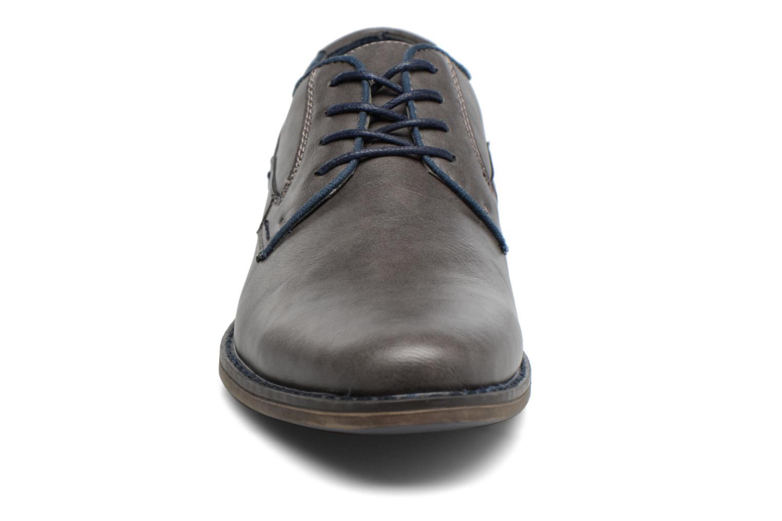 Lace-up shoes I Love Shoes SIGMUND Grey model view