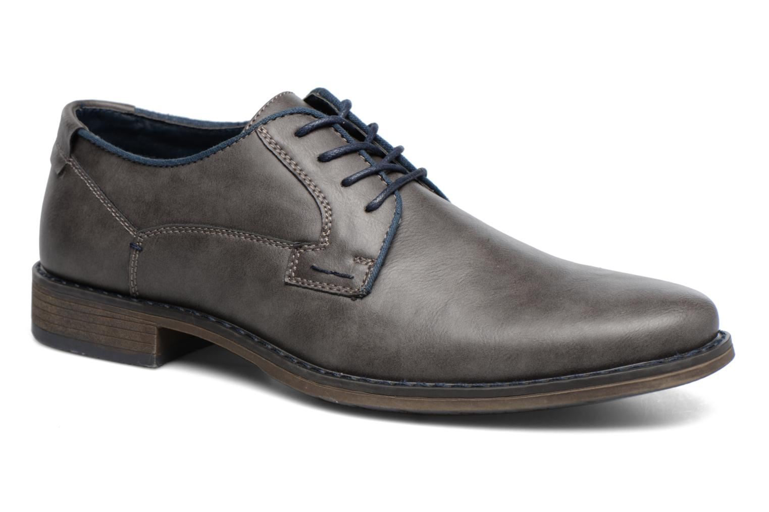 Lace-up shoes I Love Shoes SIGMUND Grey detailed view/ Pair view