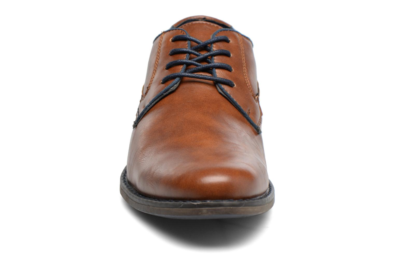 Chaussures à lacets I Love Shoes SIGMUND Marron vue portées chaussures