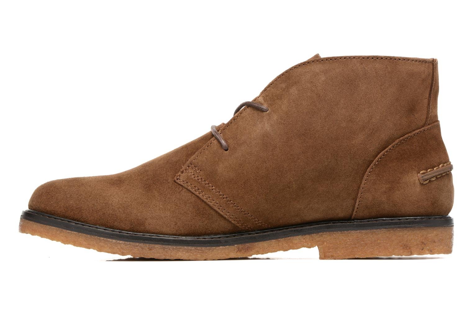 Lace-up shoes Polo Ralph Lauren Marlow Brown front view