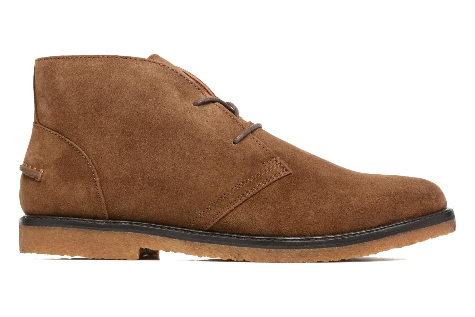 Lace-up shoes Polo Ralph Lauren Marlow Brown back view