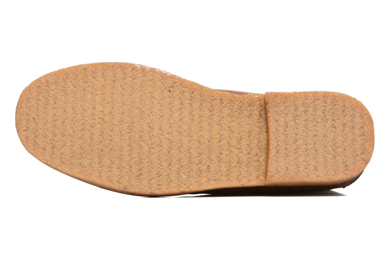 Schnürschuhe Polo Ralph Lauren Marlow braun ansicht von oben