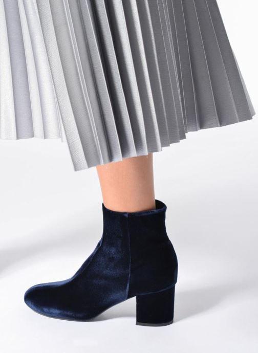 Bottines et boots Billi Bi Jonna Bleu vue bas / vue portée sac