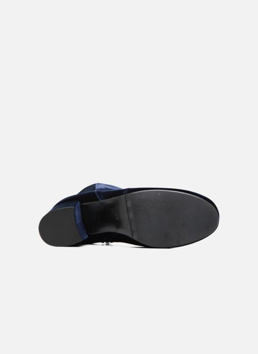 Bottines et boots Billi Bi Jonna Bleu vue haut
