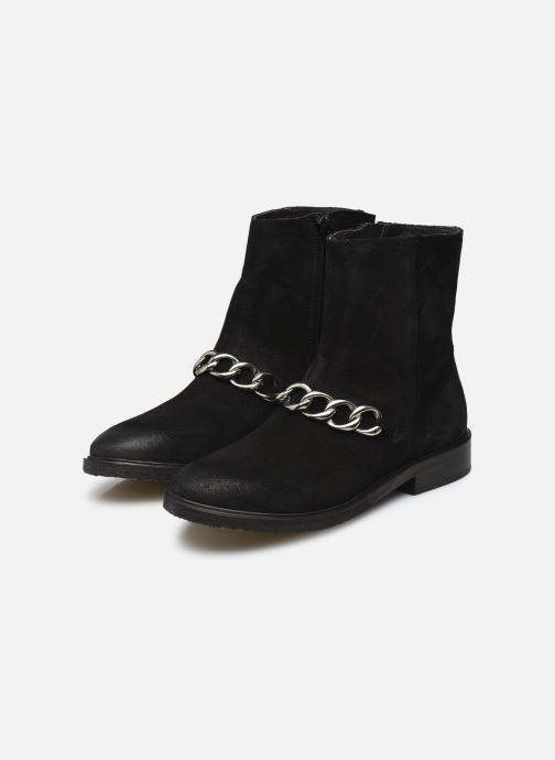 Ankle boots Billi Bi Pernille Black view from underneath / model view