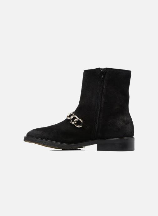 Boots en enkellaarsjes Billi Bi Pernille Zwart voorkant