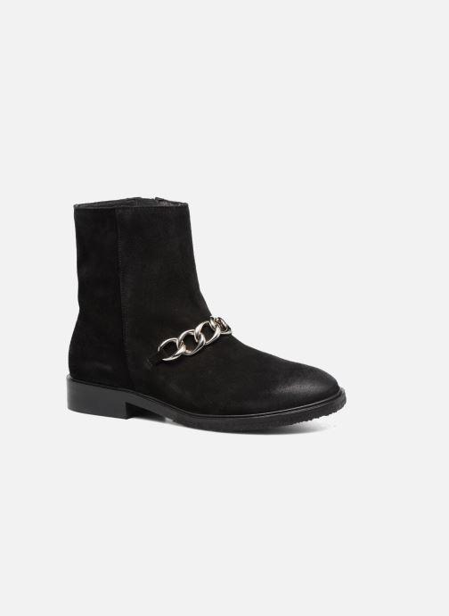 Boots en enkellaarsjes Billi Bi Pernille Zwart detail