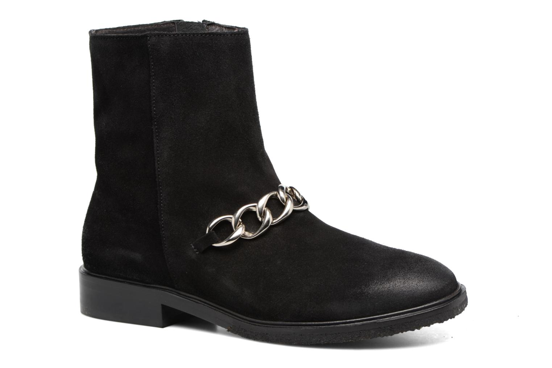 Ankelstøvler Billi Bi Pernille Sort detaljeret billede af skoene