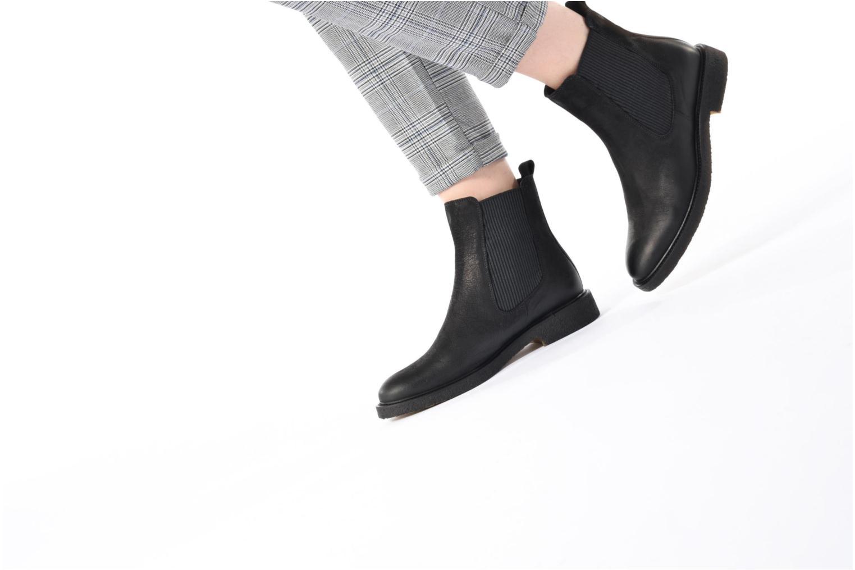 Bottines et boots Billi Bi Jens Noir vue bas / vue portée sac