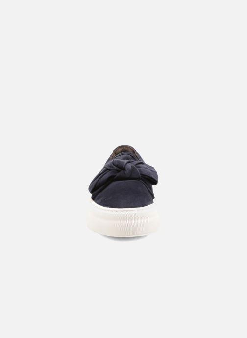 Sneakers Billi Bi Jytte Azzurro modello indossato