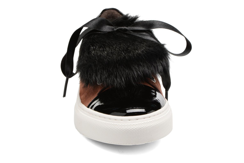 Baskets Billi Bi Hege Marron vue portées chaussures