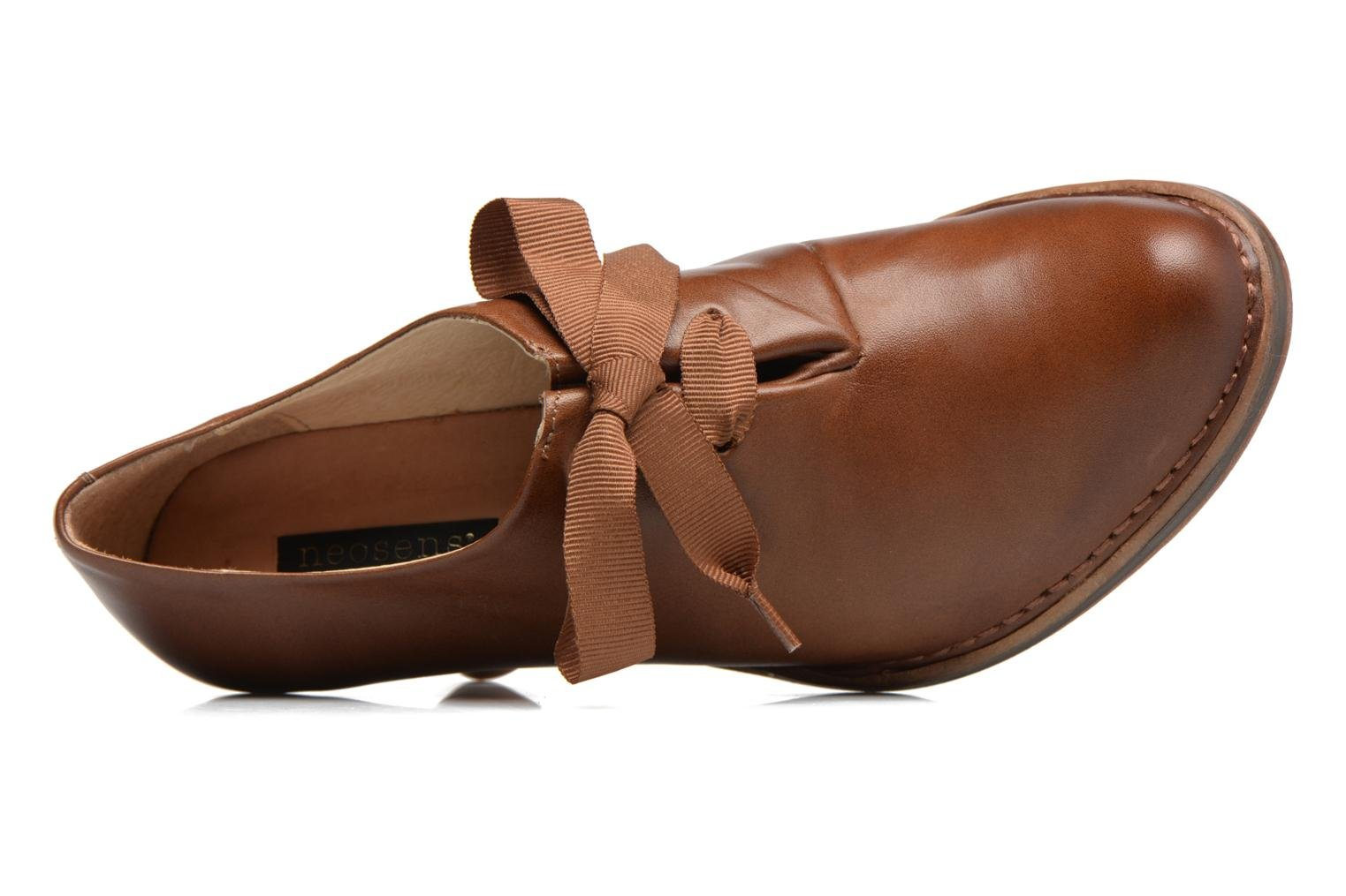 Lace-up shoes Neosens ROCOCO S833 Brown view from the left