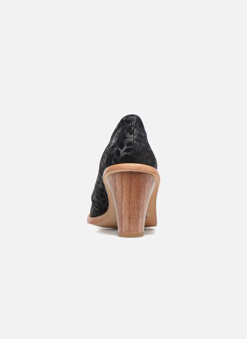 Chaussures à lacets Neosens CYNTHIA S534 Noir vue droite