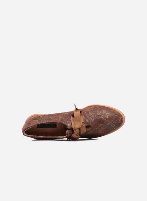 Chaussures à lacets Neosens CYNTHIA S534 Marron vue gauche