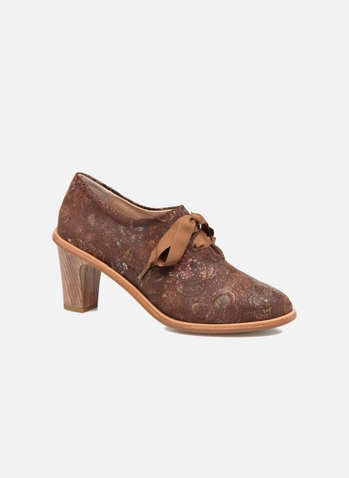 Chaussures à lacets Neosens CYNTHIA S534 Marron vue détail/paire