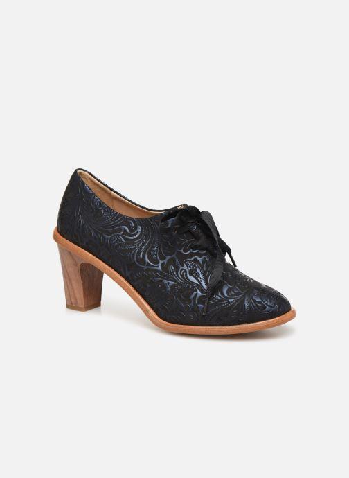 Zapatos con cordones Neosens CYNTHIA S534 Azul vista de detalle / par