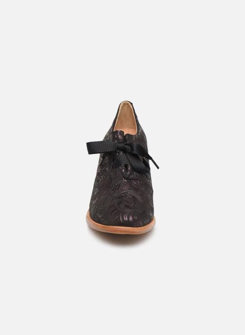 Zapatos con cordones Neosens CYNTHIA S534 Violeta      vista del modelo
