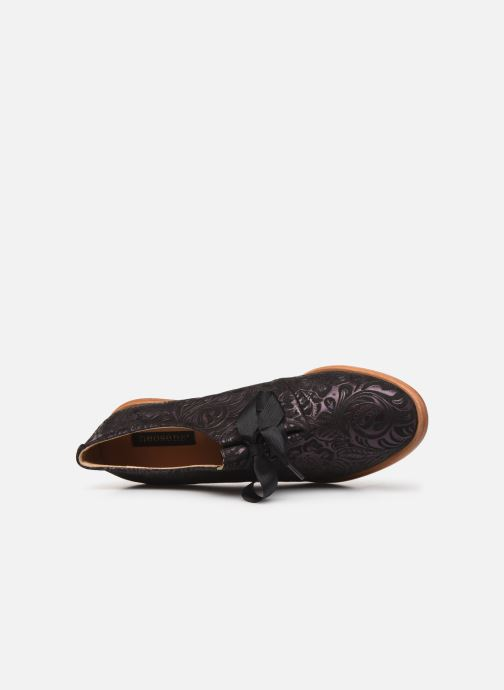 Zapatos con cordones Neosens CYNTHIA S534 Violeta      vista lateral izquierda