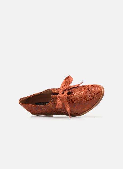 Chaussures à lacets Neosens CYNTHIA S534 Rouge vue gauche