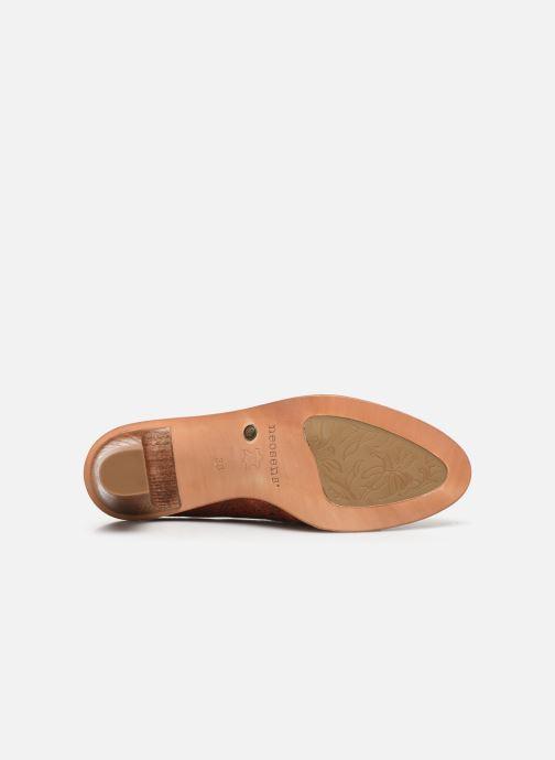 Chaussures à lacets Neosens CYNTHIA S534 Rouge vue haut