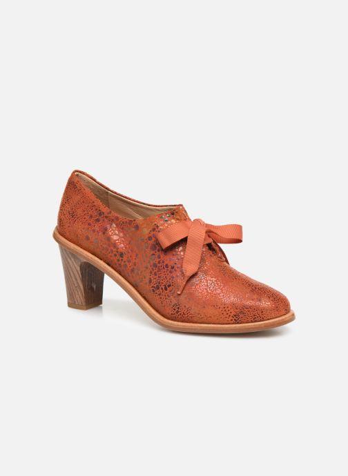 Zapatos con cordones Neosens CYNTHIA S534 Rojo vista de detalle / par