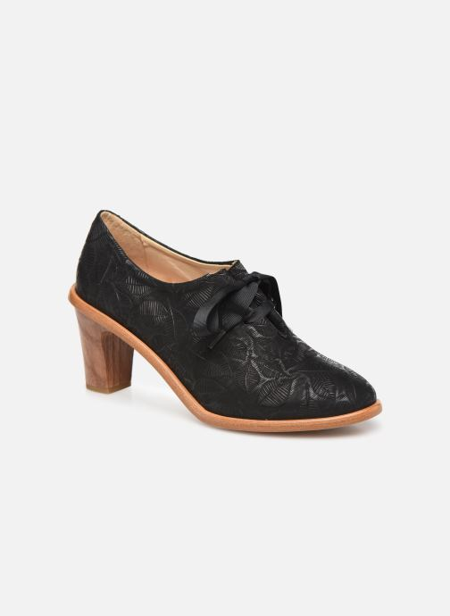 Zapatos con cordones Neosens CYNTHIA S534 Negro vista de detalle / par