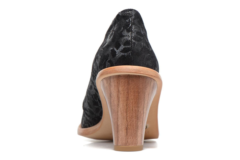 Zapatos con cordones Neosens CYNTHIA S534 Negro vista lateral derecha
