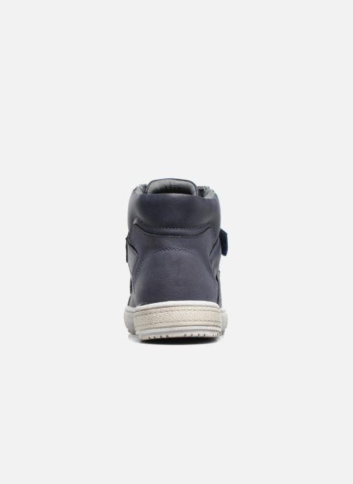 Deportivas I Love Shoes BENJI Azul vista lateral derecha