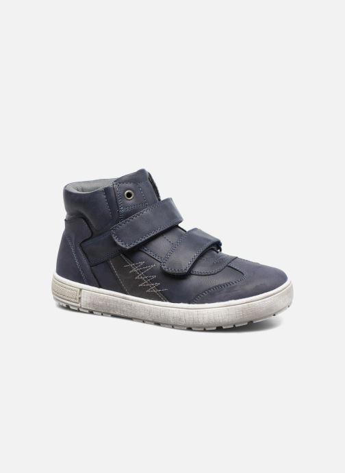 Baskets I Love Shoes BENJI Bleu vue détail/paire