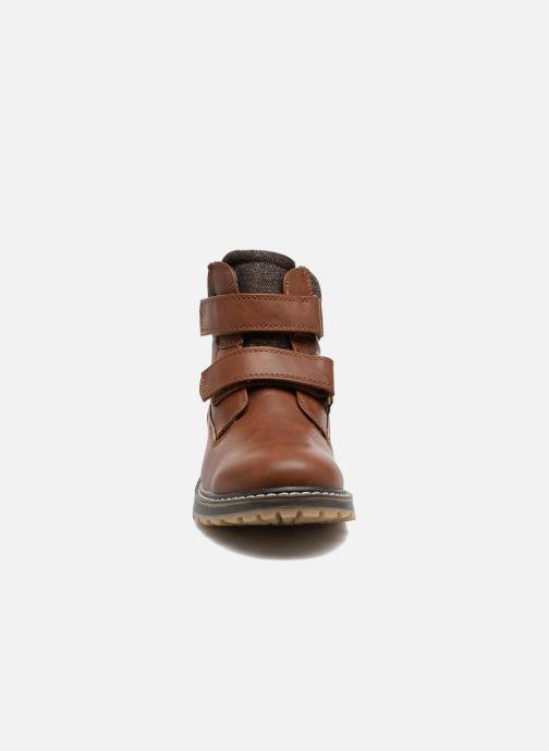 Bottines et boots I Love Shoes GALLON Marron vue portées chaussures