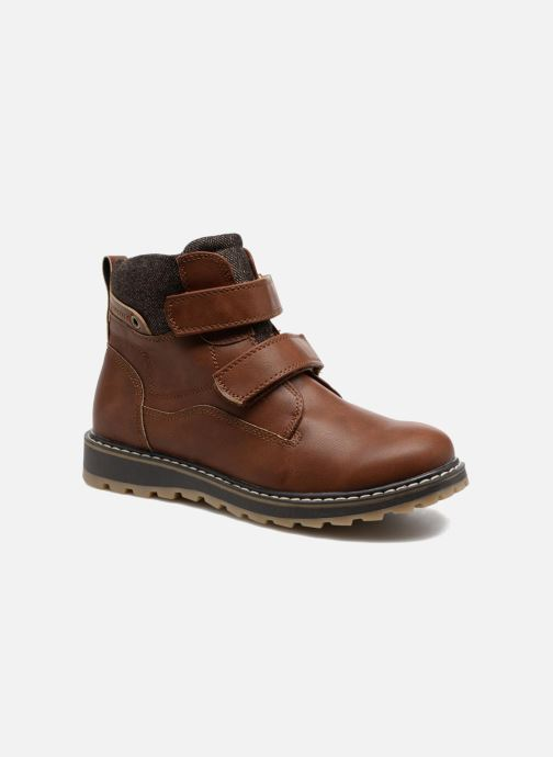 Bottines et boots I Love Shoes GALLON Marron vue détail/paire