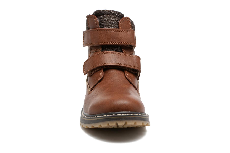 Stivaletti e tronchetti I Love Shoes GALLON Marrone modello indossato