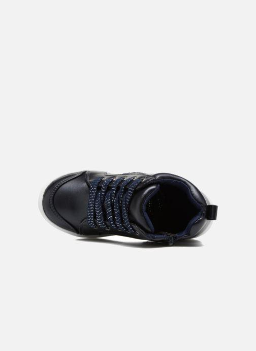 Deportivas I Love Shoes FIDAN Azul vista lateral izquierda