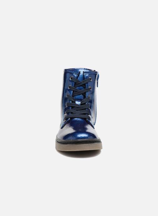 Stivaletti e tronchetti I Love Shoes FRANCETTE Azzurro modello indossato