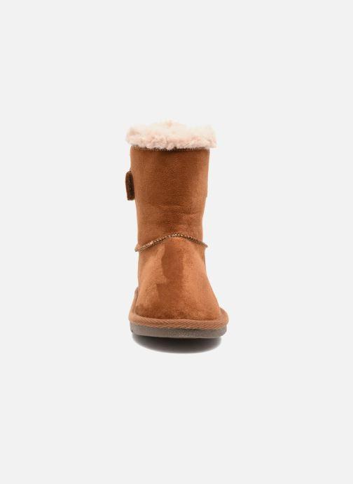 Stivali I Love Shoes FRANN Marrone modello indossato