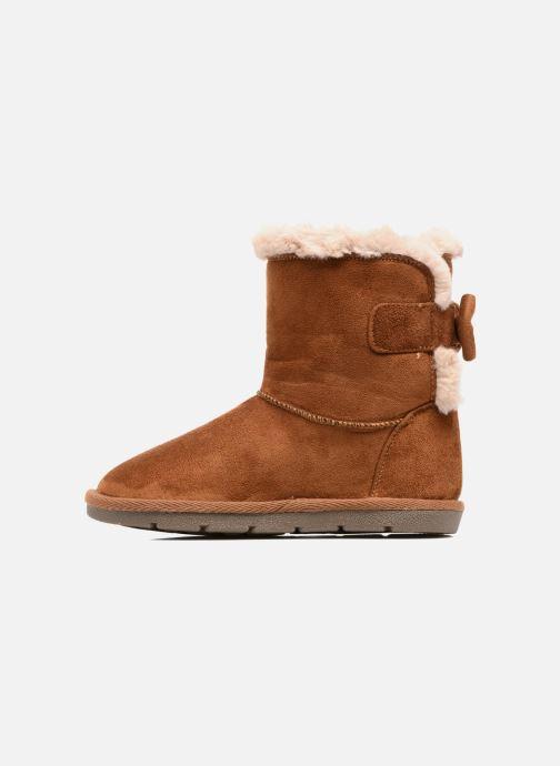 Bottes I Love Shoes FRANN Marron vue face