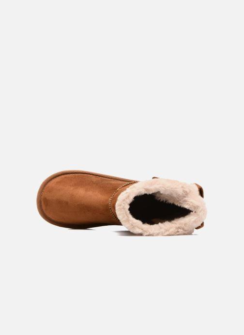 Botas I Love Shoes FRANN Marrón vista lateral izquierda