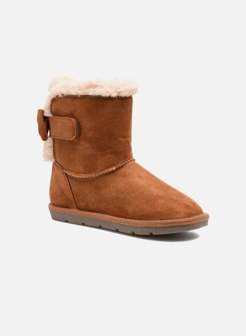 Bottes I Love Shoes FRANN Marron vue détail/paire
