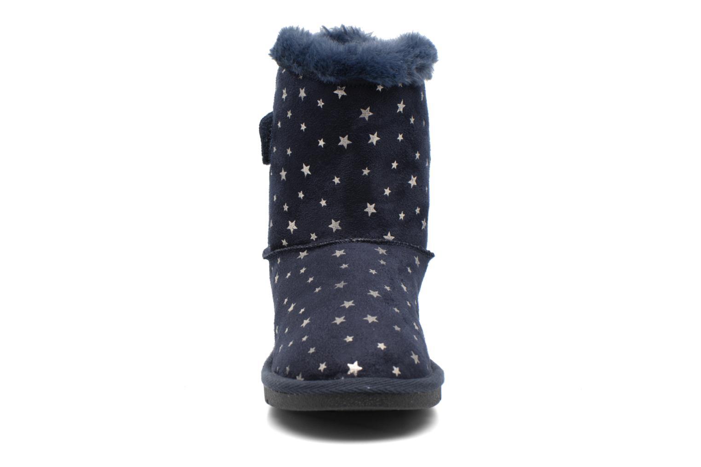 Botas I Love Shoes FRANN Azul vista del modelo