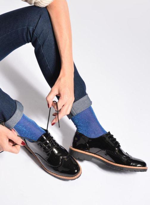 Chaussures à lacets I Love Shoes FANELY Noir vue bas / vue portée sac