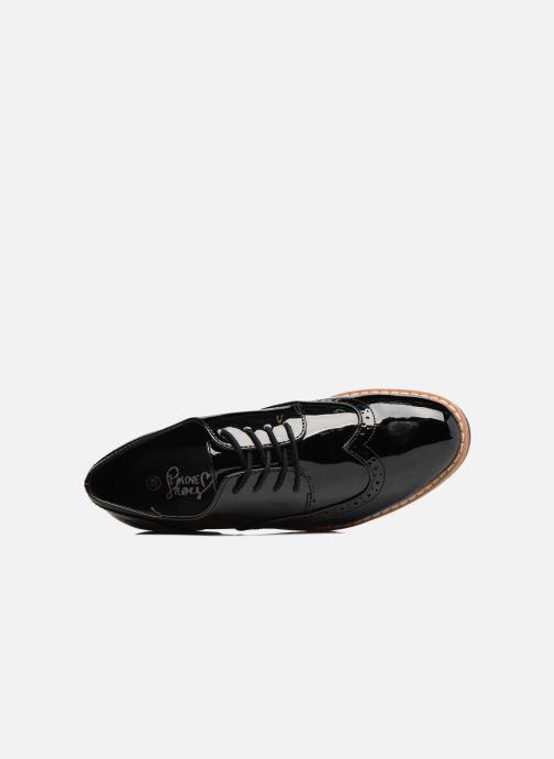 Chaussures à lacets I Love Shoes FANELY Noir vue gauche