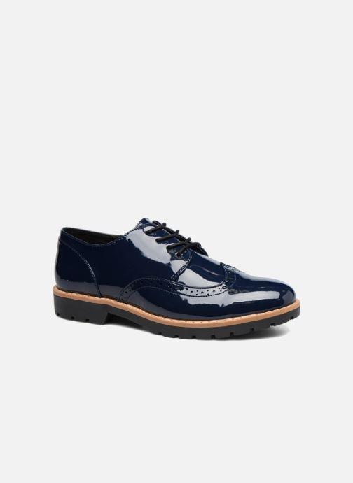 Chaussures à lacets I Love Shoes FANELY Bleu vue détail/paire