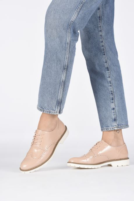 Chaussures à lacets I Love Shoes FANELY Rose vue bas / vue portée sac