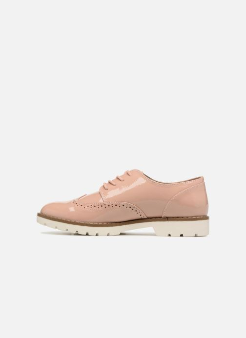 Lace-up shoes I Love Shoes FANELY Pink front view