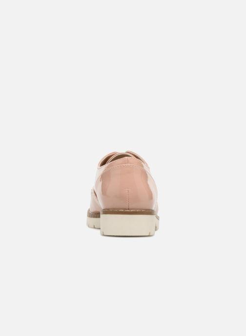 Chaussures à lacets I Love Shoes FANELY Rose vue droite