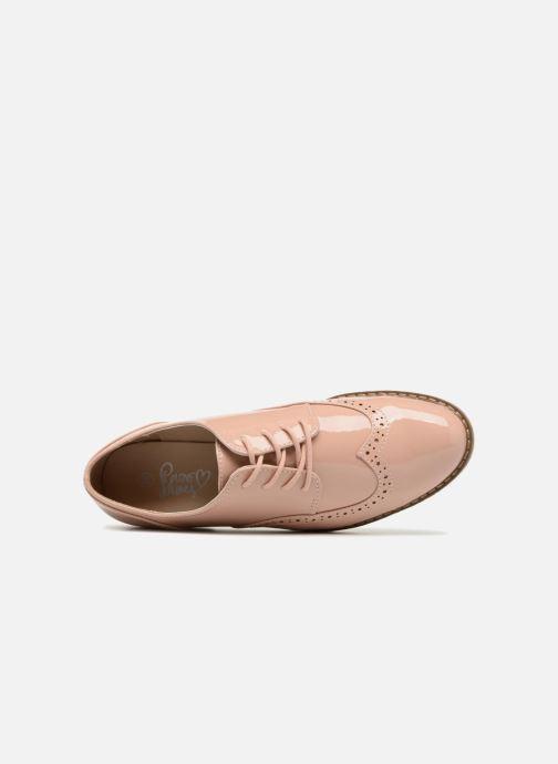 Chaussures à lacets I Love Shoes FANELY Rose vue gauche
