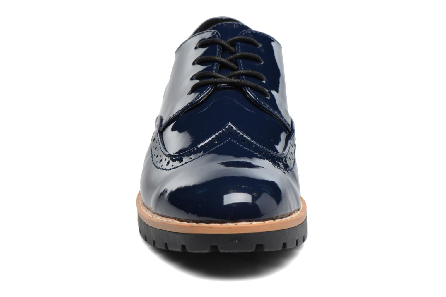 Zapatos con cordones I Love Shoes FANELY Azul vista del modelo