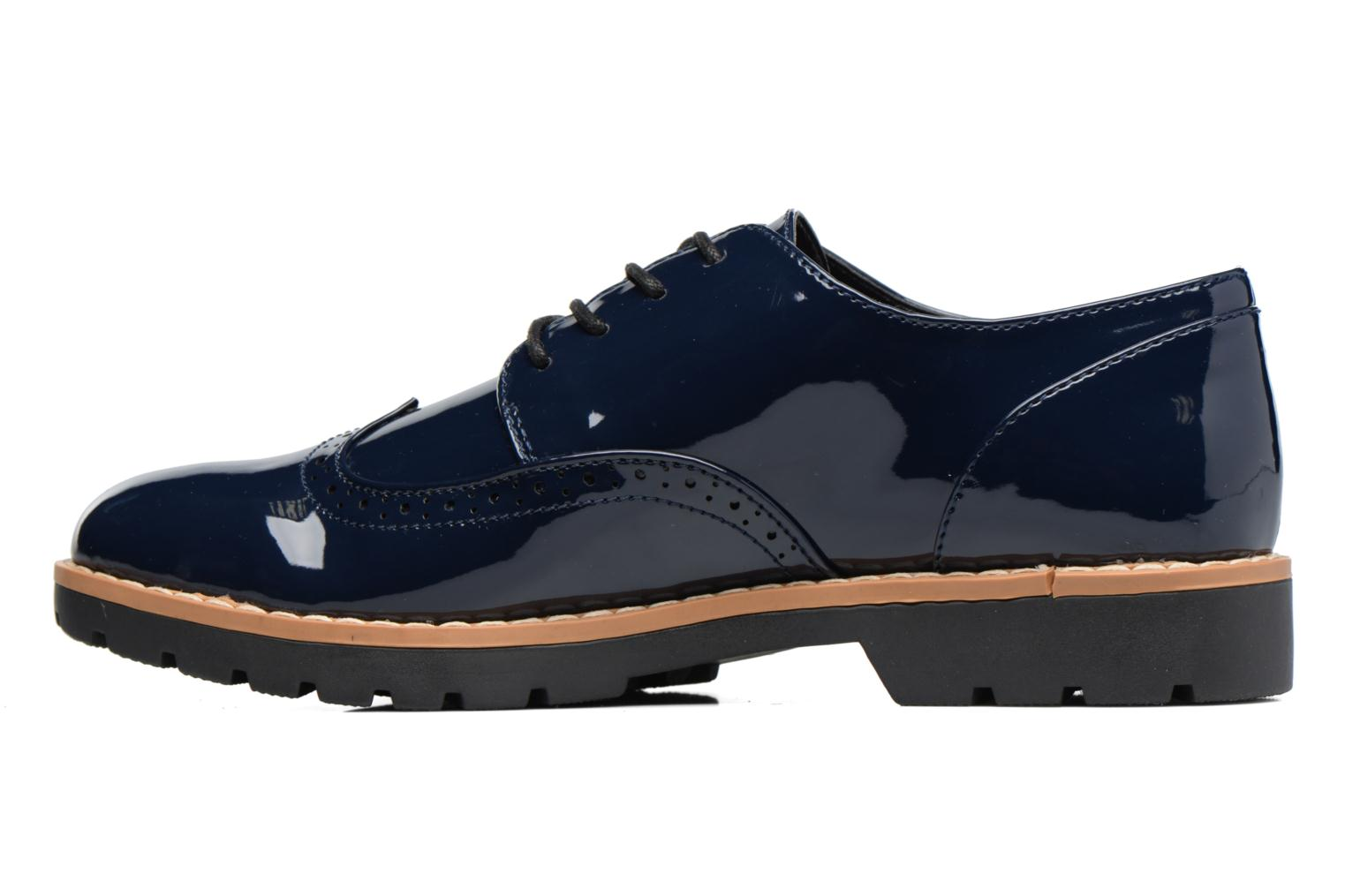 Zapatos con cordones I Love Shoes FANELY Azul vista de frente