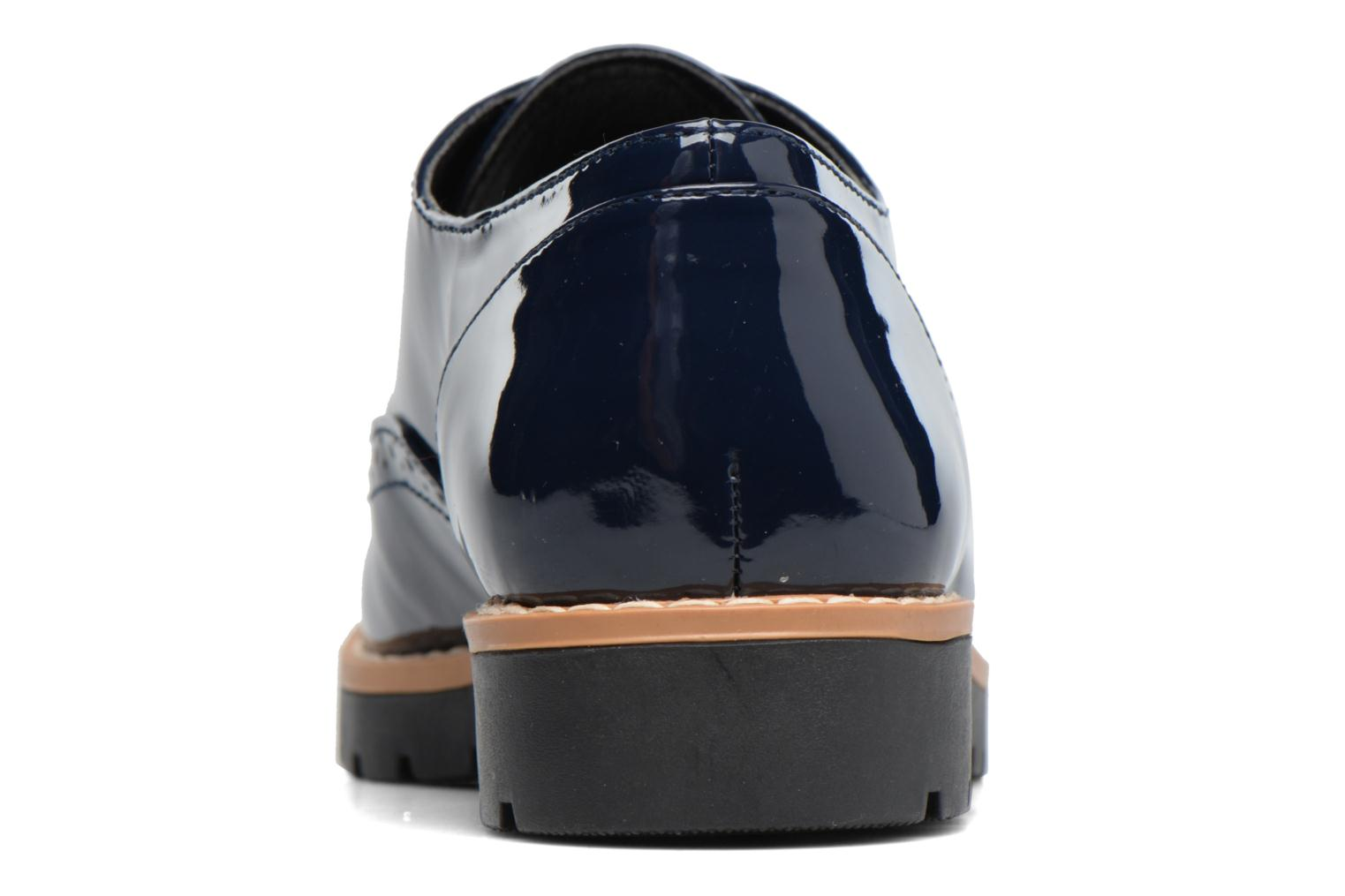 Zapatos con cordones I Love Shoes FANELY Azul vista lateral derecha